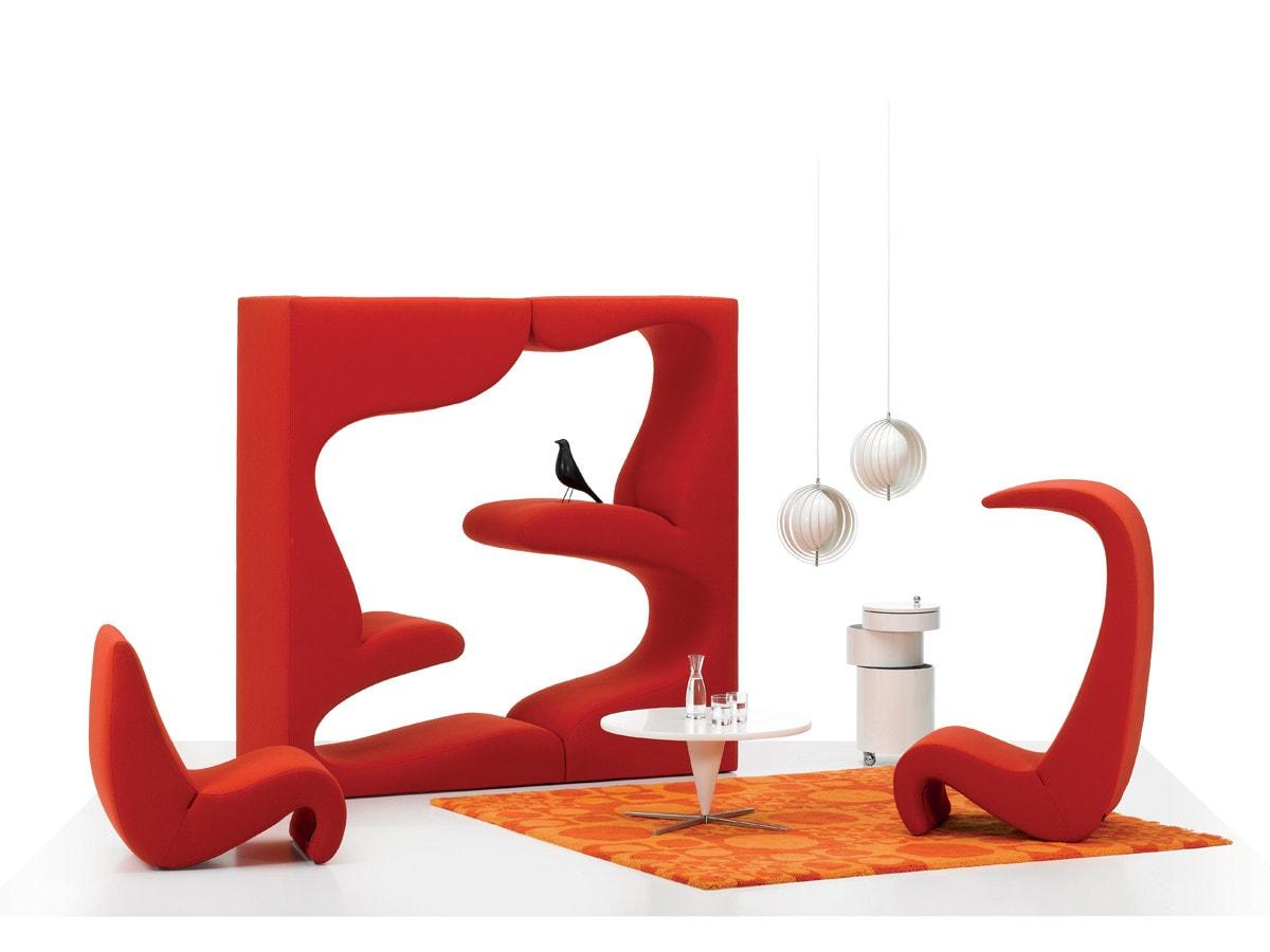 Loungeområde af Verner Panton