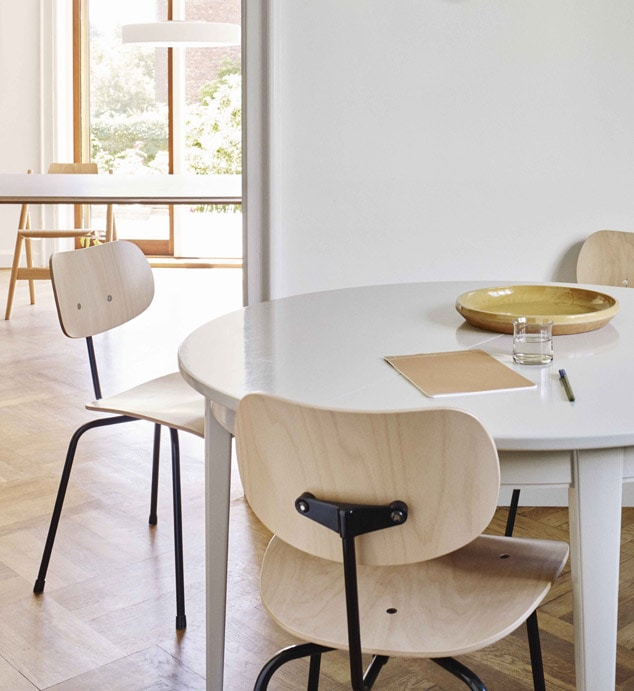 stol designet af eiermann