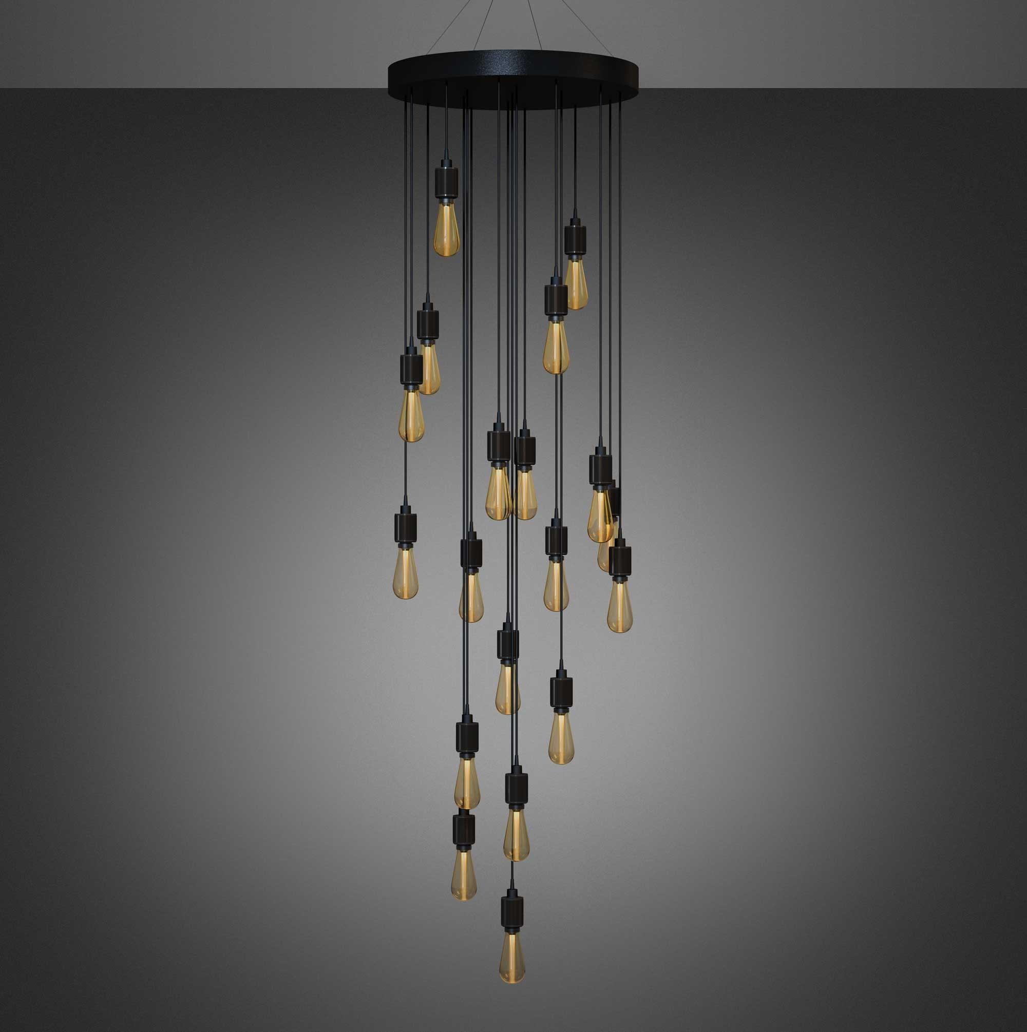 chandelier lampe designet af buster + punch