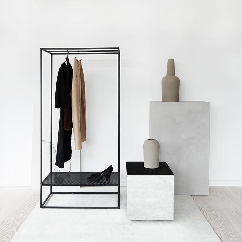 grid coat stand tøjstativ